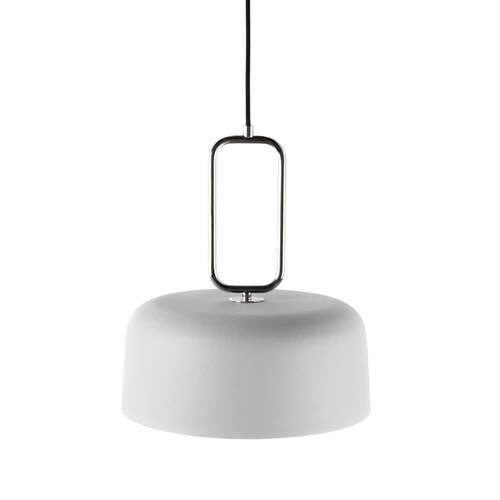 Kinetic Pendant Light - White/Nickel