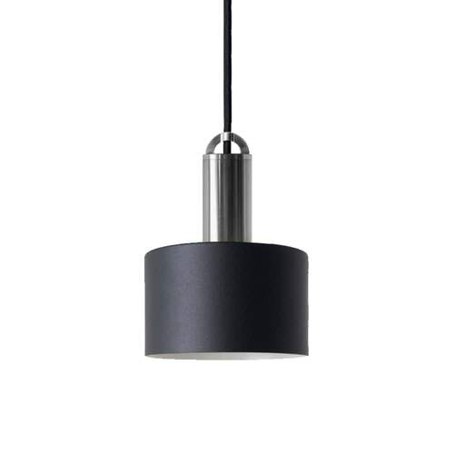Sync Tube Pendant Light - Black/Nickel
