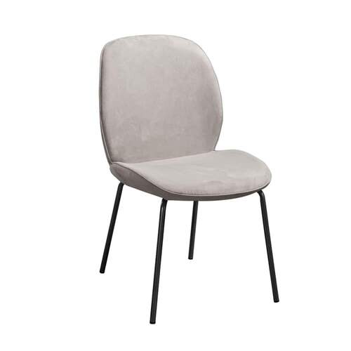 Bode Dining Chair - Nappa French Grey 05