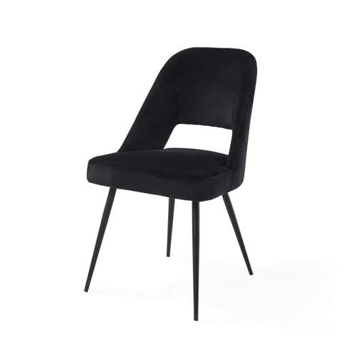 Concept Dining Chair - Vanity Velvet Black 99