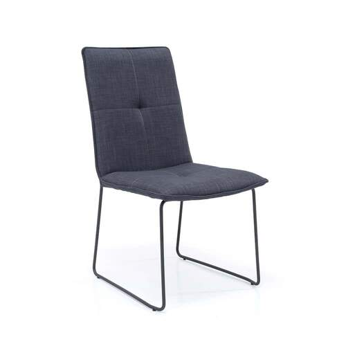 Ceremony Dining Chair - Lisbon Charcoal Grey 12