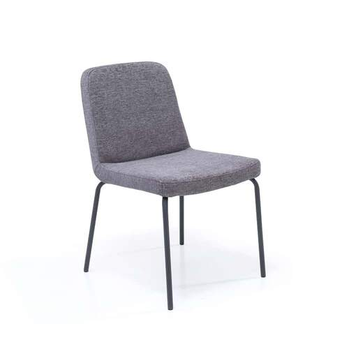 Edit Dining Chair - Black leg / Enzimi Fabric 96