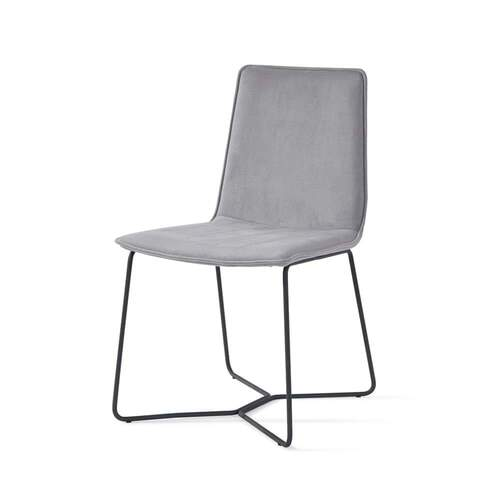 Instil Dining Chair - Luxe Velvet Cool Grey 14