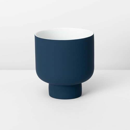 Fergus Small Planter - Navy