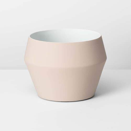 Romo Medium Planter - Nude
