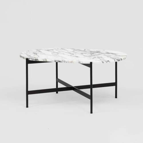 Rhonde Marble Coffee Table - Black