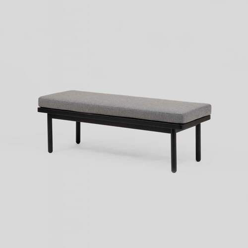 Scout Bench - Light Grey / Black