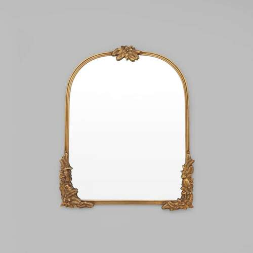 Fern Arch Mirror - Bronze
