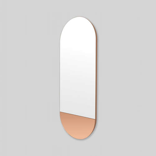 Mira Duo Tall Oval Mirror - Dusk