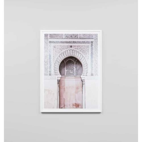 Moroccan Arch Framed Print