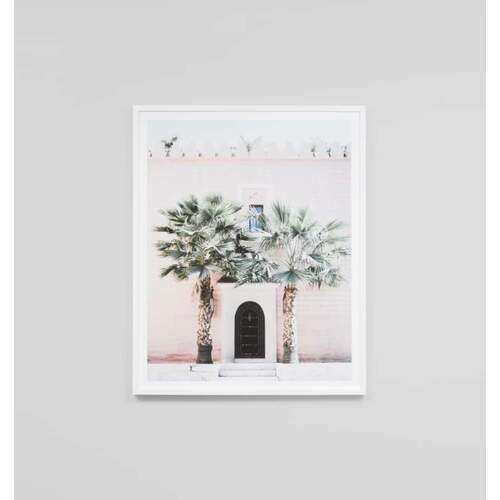 Moroccan Entrance Framed Print
