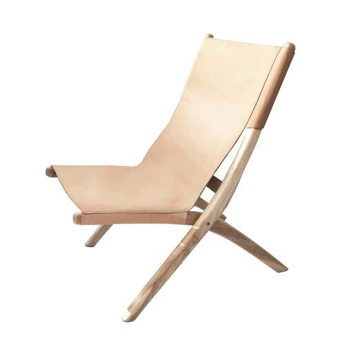 Favela Folding Chair - Nude