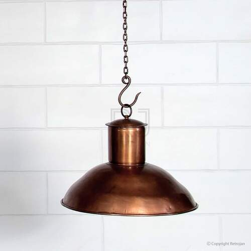 Doug Industrial Light Shade - Copper