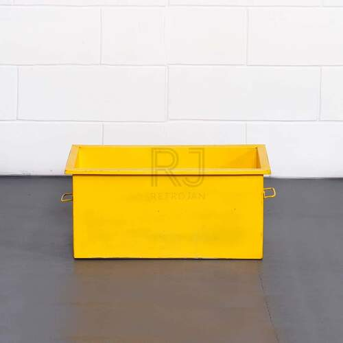 Cooper Storage Box - Yellow
