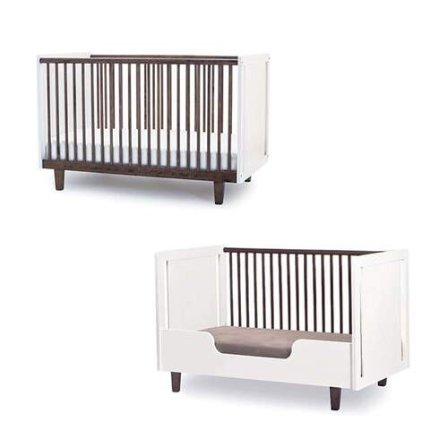 Rhea Toddler Bed Conversion Kit - White