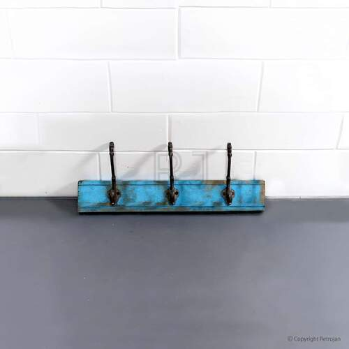 Jesse - 3 Hook - Rack (Blue)