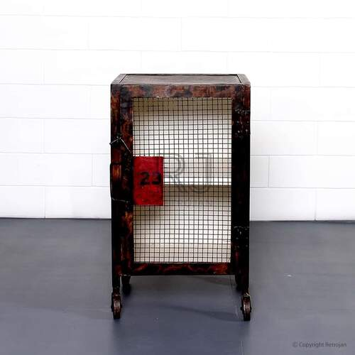 Buster Industrial Side Table