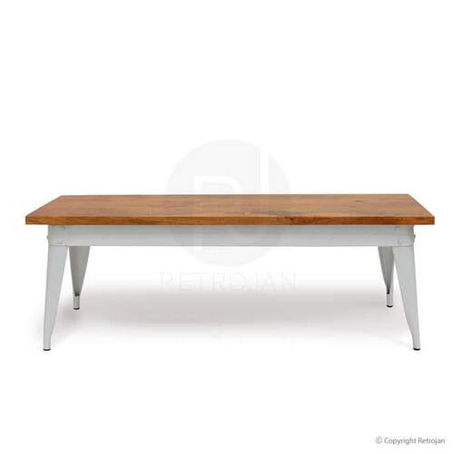 Large Masja Bench - White
