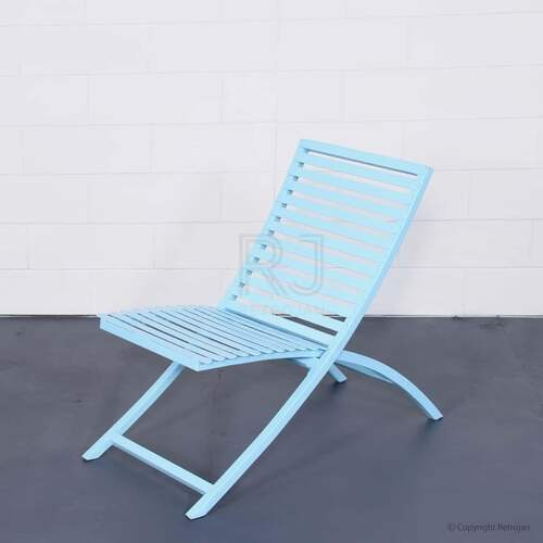 SET OF 2 Jackson Folding Chair - Baby Blue