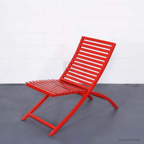 SET OF 2 Jackson Folding Chair - Red