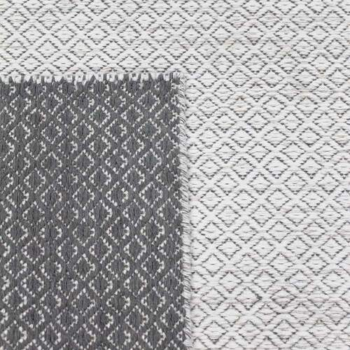 Braid Pastille Rug - Ivory / Grey