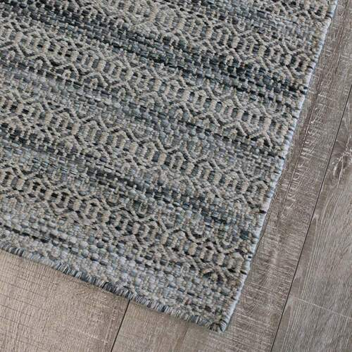 Braid Tempest Rug - Denim