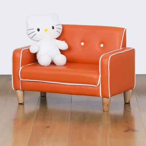 El Nino Kids Sofa - Vibrant Orange
