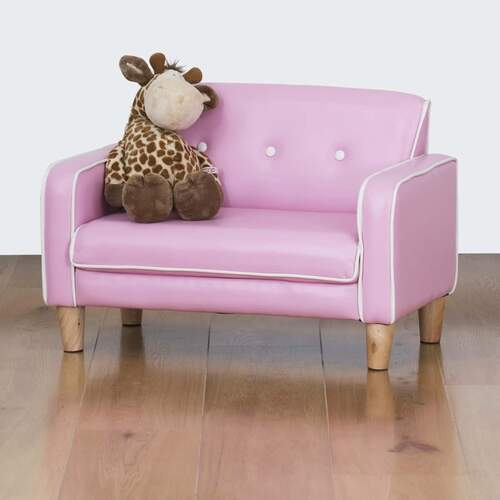 El Nino Kids Sofa - Bubblegum Pink