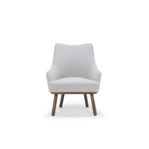 Georgia Occasional Chair - Pale Grey / Ash