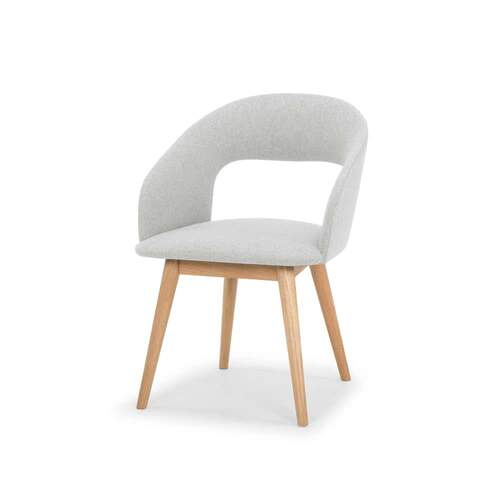 Formation Designer Dining Chair - Pale Grey
