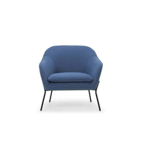 Arabella Danish Style Designer Occasional Chair - Royal Blue