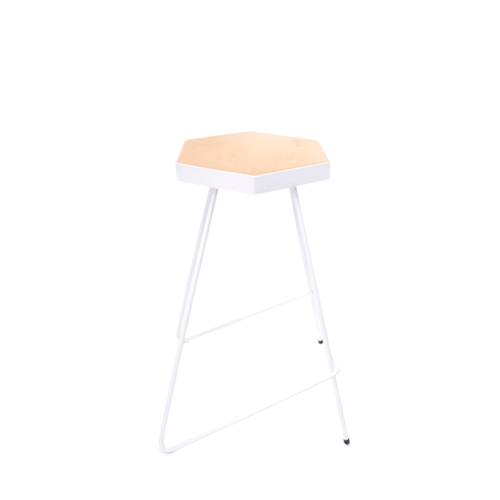 Space To Create Duop Stool 65cm - White