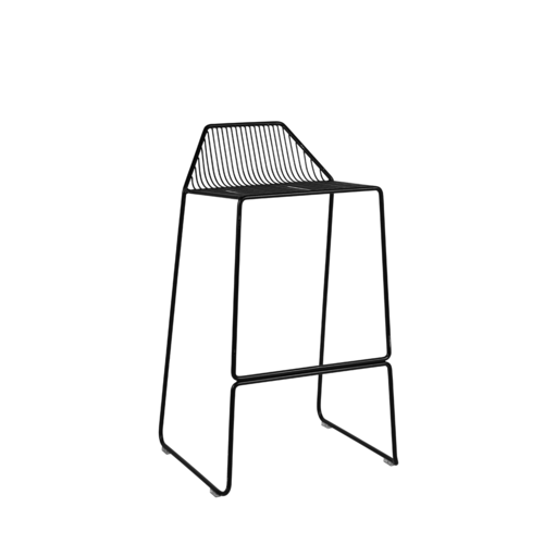Linear Stool 75cm - Black