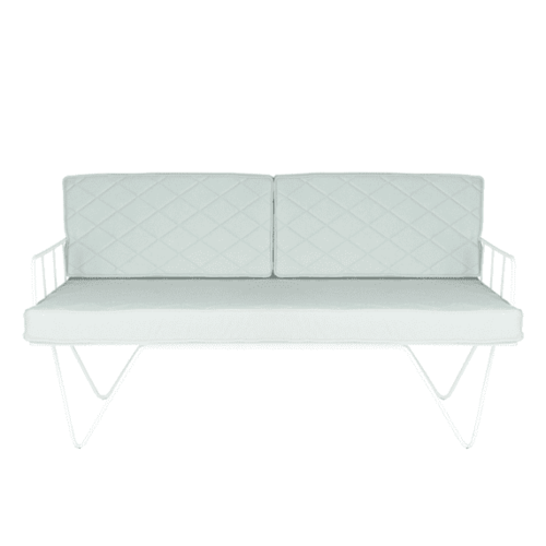 Space To Create Loop Two Seater - Sage Green