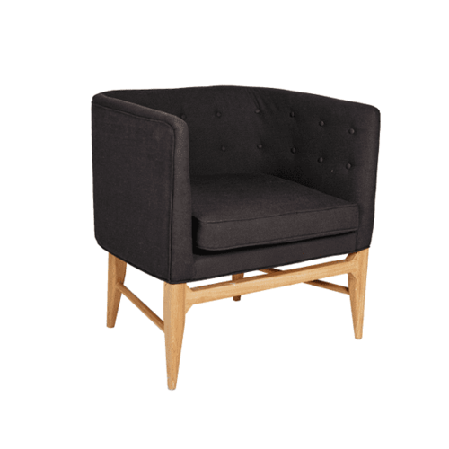 Sofia Armchair - Black