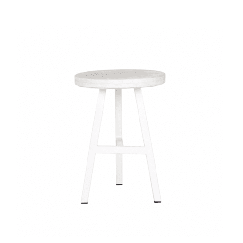 Space To Create Terrain Side Table - White