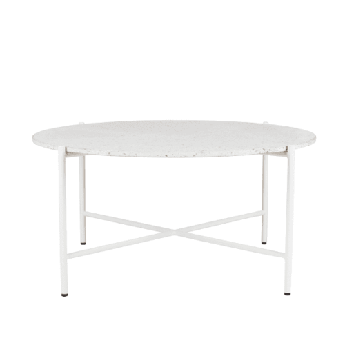 Space To Create Bijoux Terrazzo Round Coffee Table - Rosa