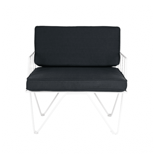 Space To Create Loop Armchair - Black