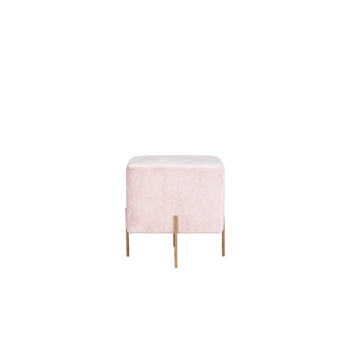Space To Create Lucienne Pod Ottoman – Blush Pink