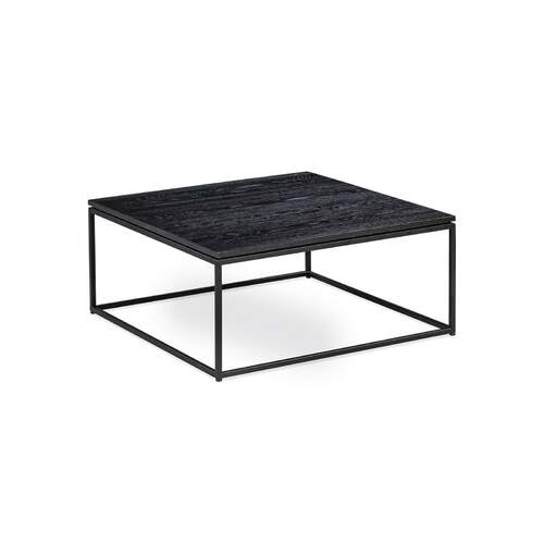 Simple Coffee Table - Black
