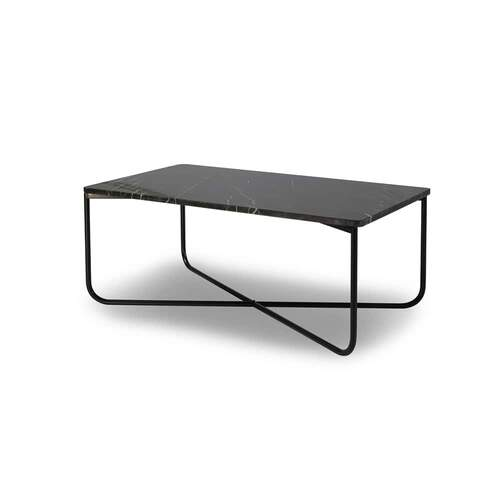 Honour Rectangle Coffee Table - Nero Marble