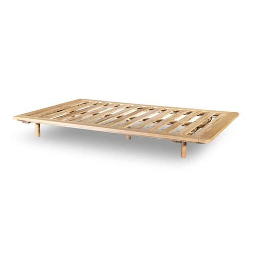 Serene King Single Bed Base - Oak
