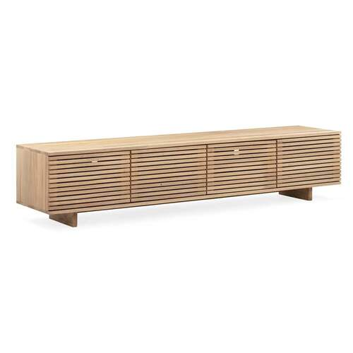 Linear Entertainment Unit 210cm - Oak