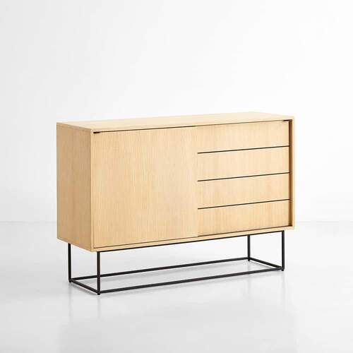 Virka High Sideboard - Oak