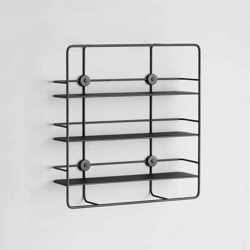 Coupé Rectangular shelf - Black