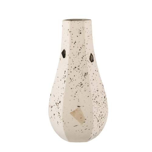 Carved Vase Curved - Confetti